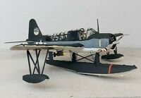 1:48 Scale Built Plastic Model Airplane WWII US Vought OS-2U Kingfisher Navy