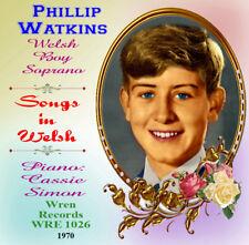 Philip Watkins Welsh Boy Soprano - Songs in Welsh
