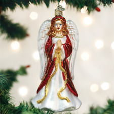 New Old World Christmas Divinity Angel Glass Christmas Ornament 10228