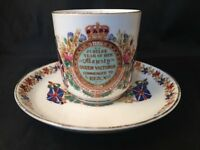 Antique Jubilee Year Of Her Majesty Queen Victoria Commenced Reign 1837 - 1887
