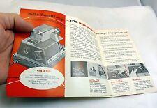 Robomatic Bell & Howell Projectors  Price List Brochure (EN) English 1950's