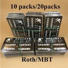 1020pk Orthodontic Dental Brackets Brace Mini Rothmbt 022 Slot 345 Hooks Metal