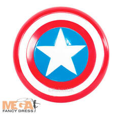 Captain America Shield Boys Fancy Dress Marvel Superhero Kids Costume Accessory