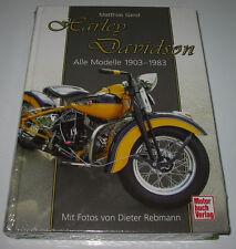 Bildband Harley Davidson Alle Modelle 1903 - 1983 Matthias Gerst NEU!