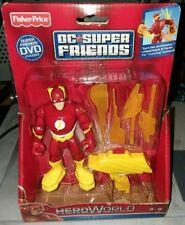 DC FISHER PRICE SUPER FRIENDS HERO WORLD FLASH FIGURE FREE SHIPPING!