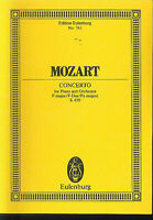 Mozart : Concerto for Piano and Orchestra F-Dur K.V. 459 ~ Studienpartitur
