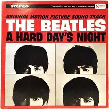 THE BEATLES 1964 A HARD DAY'S NIGHT 33 VINYL LP RECORD EXCELLENT PLUS