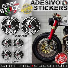 Adesivi Stickers Kit CAFE RACER HELMET GENTLEMANS RIDE TRIUMPH DUCATI BMW BOBBER
