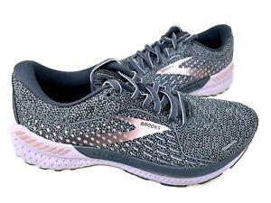 Brooks Women's Adrenaline GTS 21 Running Shoes Lav/Char #1203291 Size:8.5 146R z