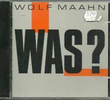 CD - Pop - Wolf Maahn - Was? (10 Songs)  Electrola