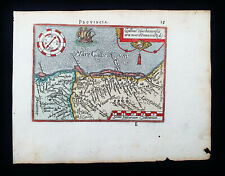 1601 A. ORTELIUS - rare map of FRANCE, PROVENCE, NICE, MARSEILLE, COTE D'AZUR...