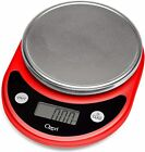 Ozeri ZK14-R Pronto Digital Multifunction Kitchen and Food Scale, Red photo