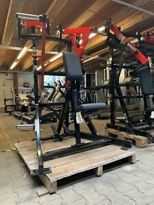 *NEU* HAMMER STRENGTH Rudermaschine Low Row Plate Loaded Fitness Professionell