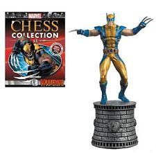 Eaglemoss Chess NEW * Wolverine * #55 White Knight Marvel Comics X-Men Magazine
