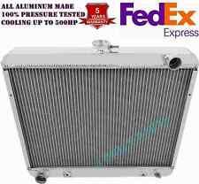 "1965-1969 Plymouth Satellite 3 Row Alliant Radiator 22/"" Wide Core"