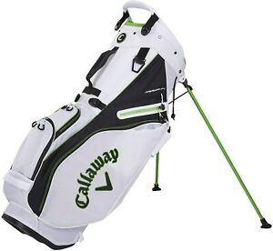 New Callaway Golf 2021 Fairway 14 Stand Bag 14-Way Top COLOR: White/Black/Green