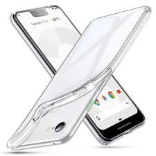for Google Pixel Clear Slim GEL Phone Case Silicone TPU Back Cover