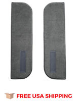 FITS 1987 Chevrolet V10 Door Panel Inserts on Cardboard w/Vents 2pc Cutpile