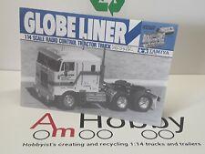1/14 Tamiya Truck Globe  Liner 6x4 , Instructions