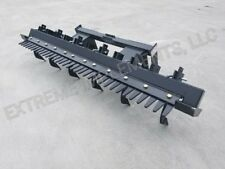 "96"" Skid steer landscape/finishing rake attachment"
