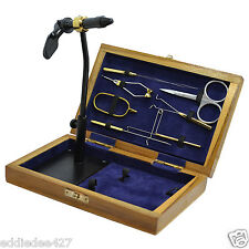 Standard Wooden Fly Tying Tool Kit