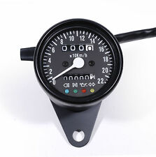 Mini Speedometer km / H Pilot Lights for Harley-davidson Chopper