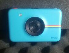 Polaroid Snap Digital Camera - Blue - Used No Film or Cap Model# POLSP01