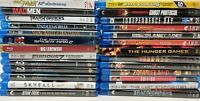 Lot of 26 Blu-Ray Movies Harry Potter Marvel Fast Furious & a lot More!