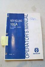New Holland 10la Loader Operators Manual