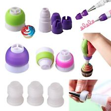 Icing Piping Nozzles Tips Cake Decorating Converter Coupler Pastry Baking Tools