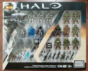 Mega Bloks Halo Outlands Skirmish Figure Set Spartans Brute Grunt MISB RARE VHTF
