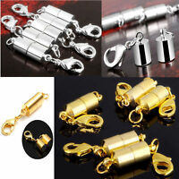 5pc Silver Gold Magnetic Clasp Hook for DIY Bracelet Necklace Jewelry Finding