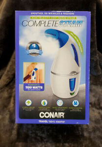 Conair Complete Steam Hand Held Travel Garment  and Fabric Steamer Fast Heat Up