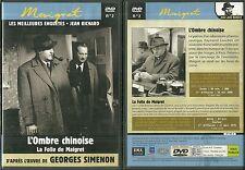 DVD - LES MEILLEURES ENQUETES DE MAIGRET : JEAN RICHARD / COMME NEUF