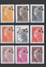 "2012-Timbres ""Maxi Marianne Etoile d'Or"" 4662A-Q, neufs,qualité luxe (03-021.18)"