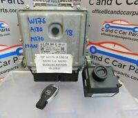 2018 Mercedes A Class W176  A180 Engine ECU Control Module lock set A2709002100