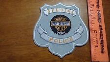 FLORIDA SPECIAL POLICE MOTORCYCLE BLUE KNIGHTS OBSOLETE PATCH     BX 12 #15
