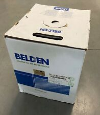 Belden 9451 010 multi conductor 22 AWG Communication Cable 1000 ft  - BLACK