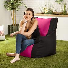 Pink Layla Gaming Bean Bag Gamer Arm Chair Seat Indoor / Outdoor Garden Lounger