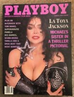 PLAYBOY MARCH 1989 * VERY GOOD CONDITION * LAURIE WOOD * LATOYA JACKSON