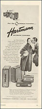 1952 Vintage ad for Hartmann Skymate Luggage`Photo retro Fashion (042416)
