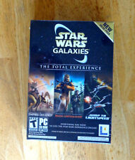 Star Wars Galaxies: The Total Experience (PC, 2005) (Factory sealed retail box)