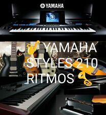 RITMOS LATINOS PARA TECLADOS YAMAHA psr s 950, 750,710,910,770,775,970,975,A3000