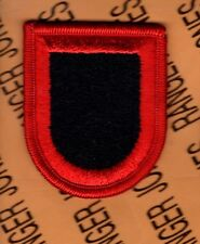 USASOC US Army Special Operations Command Airborne beret flash patch m/e