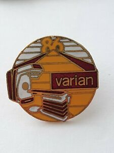 Vintage 1986 Varian Associates Lapel Pin Silicon Valley Electron Devices