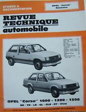 Revue Technique Automobile - Opel Corsa Essence - 1000 - 1200 - 1300
