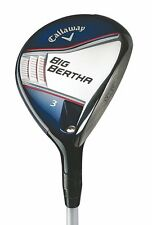New Callaway Big Bertha 3 Fairway Wood Fubuki 50x5ct Ladies flex Graphite shaft