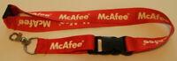 McAfee Schlüsselband Lanyard NEU (T95)