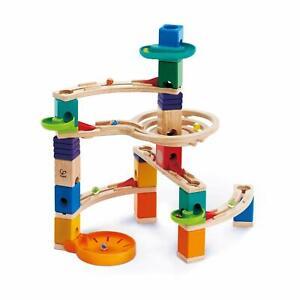 Hape E6020 Quadrilla Cliffhanger Marble Run Childrens Kids Wooden Toy Age 4+