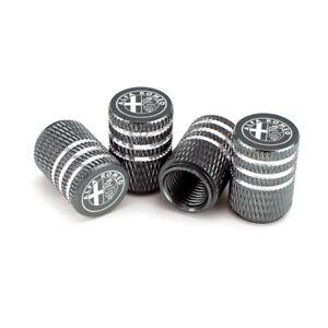 4pcs For Alfa Romeo Car Wheel Tire Valve Stems Caps Air Valve Covers Accessories